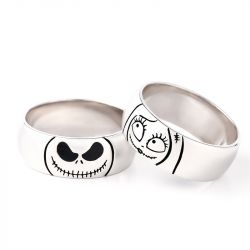 Jeulia Jack Skellington Linda Anillo De Plata Esterlina