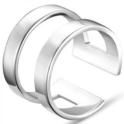 Jeulia Ring For Women And Men in Silver Sterling