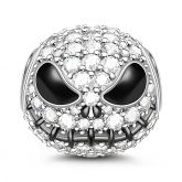 jack Skull 925 Sterling Silver Bead Charm